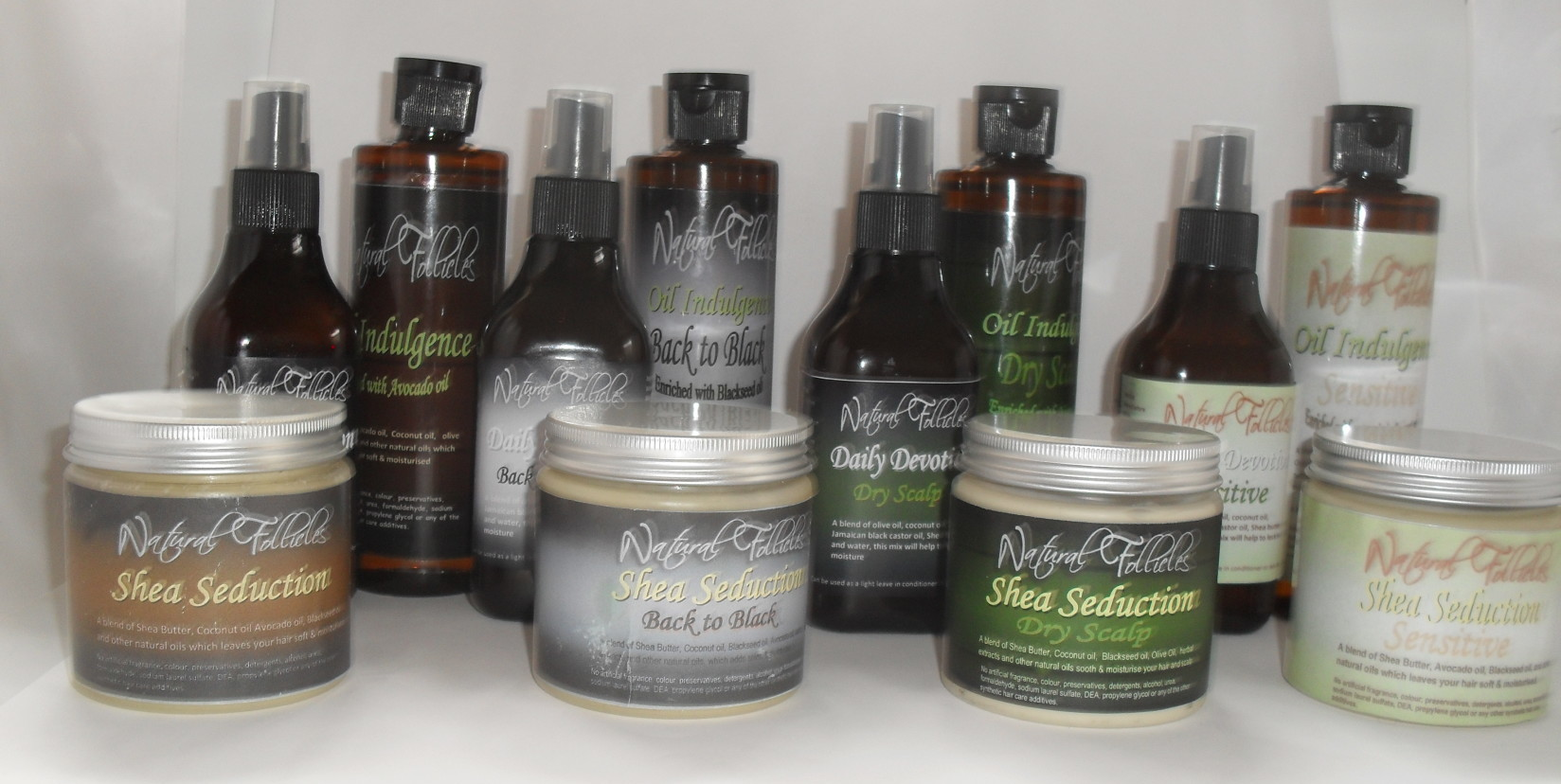 Natural Follicles product line